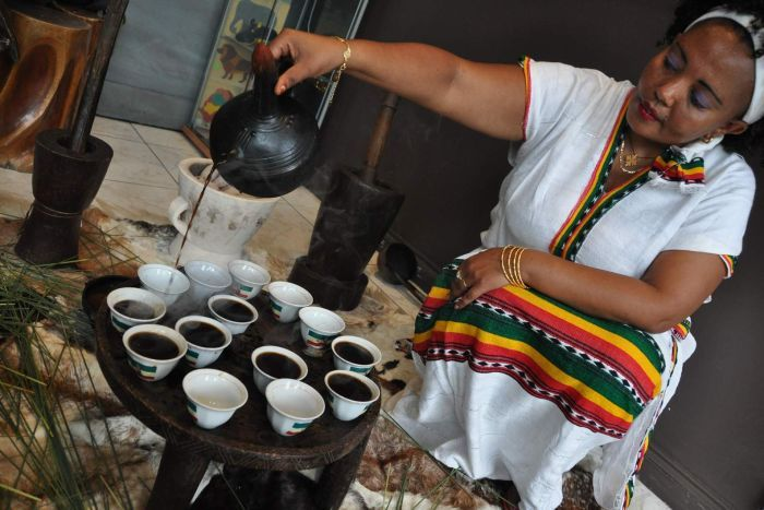Ethiopian Coffee Ceremony | Theta Ridge Coffee